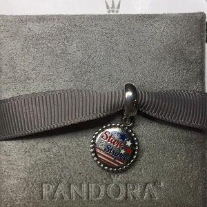 Pandora Jewelry - PANDORA 🇺🇸Stars & Stripes🇺🇸 Dangle Charm, NWT